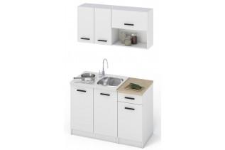 Kuchyňa NIKA 120 dub sonoma/biela