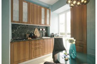 Kuchyňa na mieru NICE orech/biely korpus