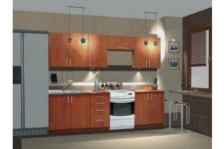 NORA kuchyňa, vzorová zostava, jelša