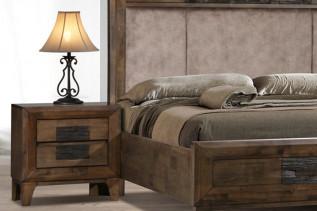 LOBAMBA drevený nočný stolík