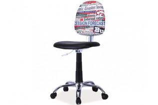 GRAFITI 1 detská otočná stolička