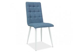 MOTTO stolička, biela/modrá