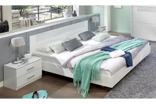 PALOMA 141 S06 manželská posteľ 180x200 cm a 2 nočné stolíky