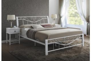 DARMA posteľ 160x200 cm, biela