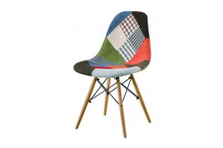 PARTY jedálenská stolička, patchwork