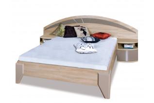 ROME manželská posteľ s nočnými stolíkmi