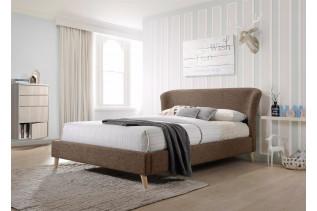 Čalúnená manželská posteľ MONA