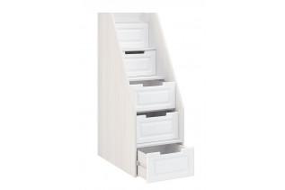 PRAHA schody / zásuvky k NT721, biele drevo