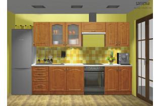 PREMIUM kuchyňa, vzorová zostava, jelša