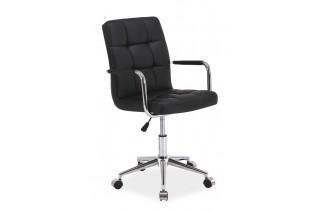 Kancelárske kreslo K-022, čierne