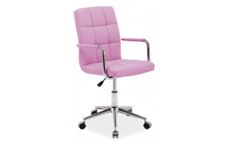 Kancelárske kreslo K-022, ružové