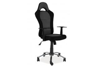 Kancelárske kreslo K-039, čierna/sivá