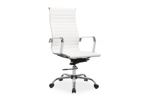 Kancelárske kreslo K-040, biele