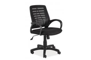 Detská otočná stolička K-073, čierna