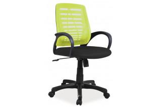 Detská otočná stolička K-073, zelená