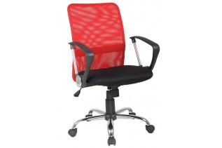 Q-078 kancelárske kreslo, čierno/ červené.