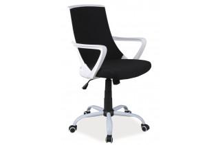 K-248 detská otočná stolička, čierna