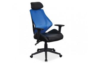 K-406 kancelárske kreslo, čierno-modré