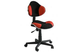 Q-G2 kancelárske kreslo, čierna/červené.