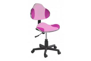 Q-G2 kancelárske kreslo, ružové