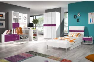 detská izba fialová