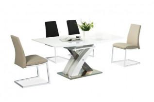 Jedálenský stôl RAUL, biela