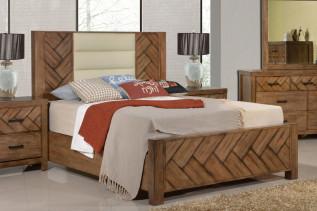 ALOHA drevená manželská posteľ 180