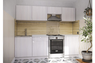 Kuchynská zostava ROMA 240, jasan angkor