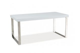 ROSALIA konferenčný stolík, biely lesk