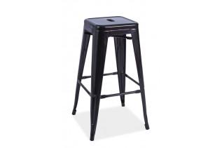 Stolička S-4, čierna