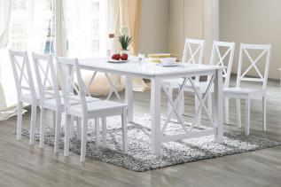 SALLY jedálenská stolička, biela