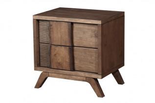 SANDRA drevený nočný stolík