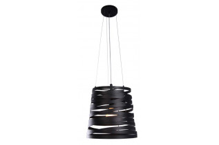 SONGO stropný luster, čierny