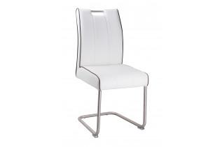 Jedálenská stolička LAVENTO biela