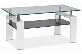 Konferenčný stolík LISA II, biely lak.