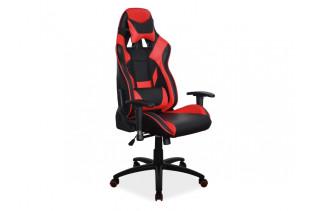 Kancelárske kreslo ARONY, čierno-červené