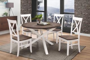 GRENADA jedálenský set (stôl + 4 stoličky)