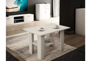 Konferenčný stolík AGATA, biely