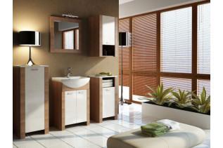 ITALIA kúpeľňová zostava, škoricová akácia