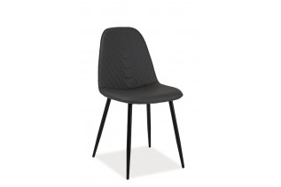 TEODOR A jedálenská stolička, sivá