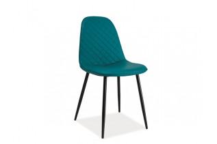TEODOR C jedálenská stolička, morská zelená