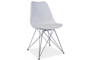 TIMO jedálenská stolička, biela