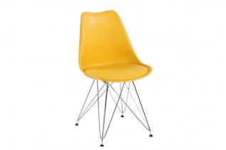 TIMEA II jedálenská stolička, žltá