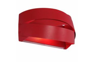 TORNADO nástenná lampa, červená