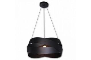 TORNADO stropný luster, čierny