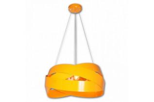 TORNADO stropný luster, oranžový