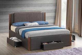 TRILIAN 160 čalúnená manželská posteľ