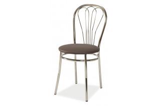 Jedálenská stolička K-1, hnedá (na obrázku v čiernej farbe)