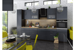 Kuchyňa na mieru VALENCIA ANTRACIT, korpus wenge