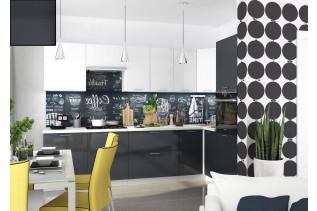 Kuchyňa na mieru VALENCIA ANTRACIT/BIELY LESK, korpus biely